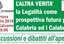 L'altra verità: la legalità come prospettiva futura per la Calabria ed i Calabresi 1