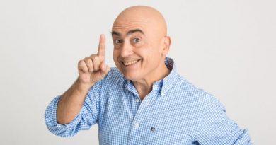 """Paolo Cevoli  in """"Lezioni di Marketing"""""""
